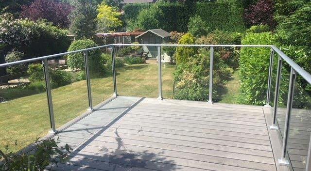 Aluminium Channel Grass Balustrade