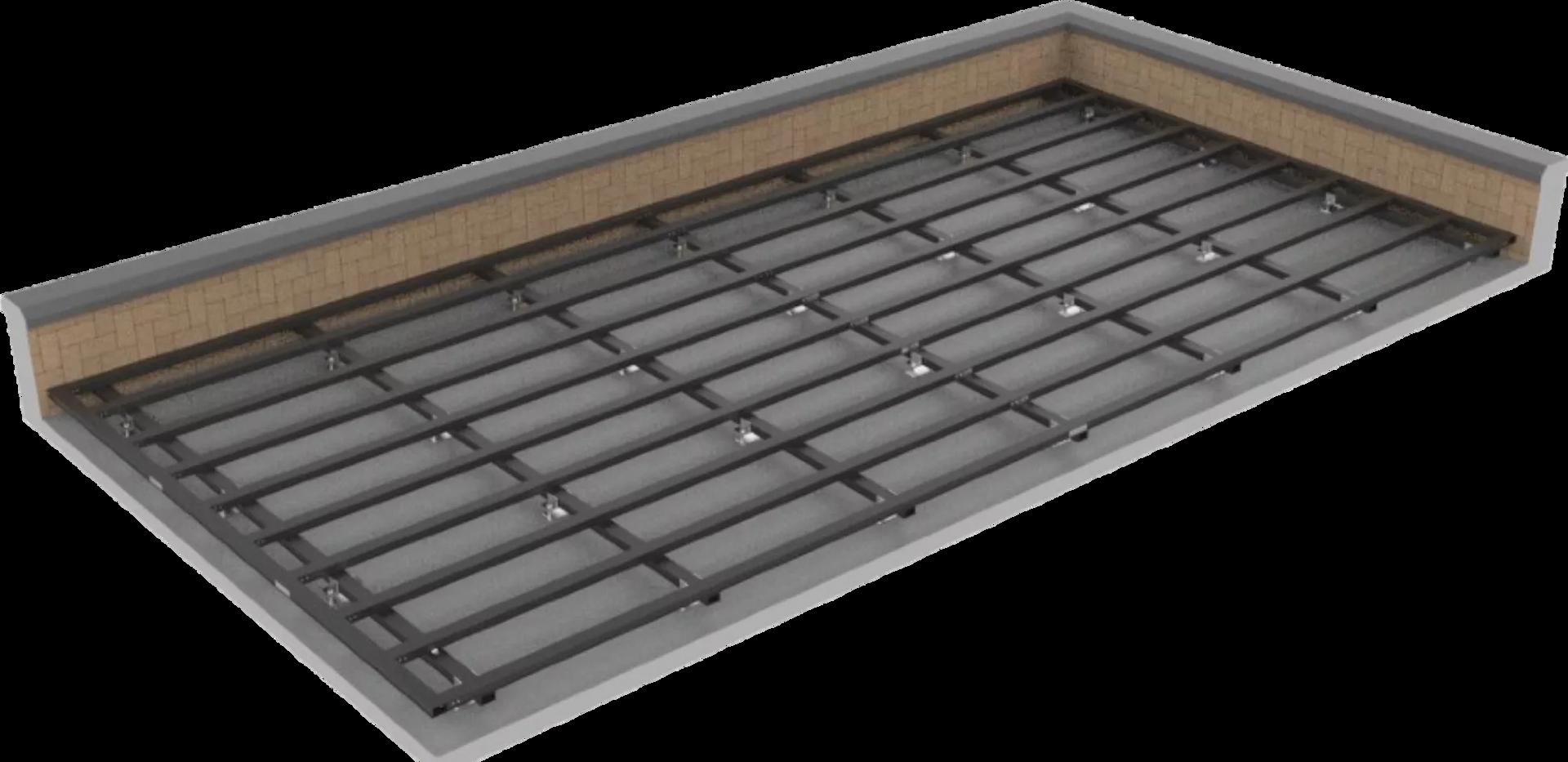 548 AL13 Aluminium Subframe