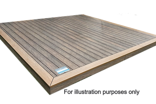 Prestige Decking Kit (3.6m x 3.6m)