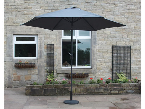 Parasol 3M with Steel Frame With or Without Base (2 Colours)