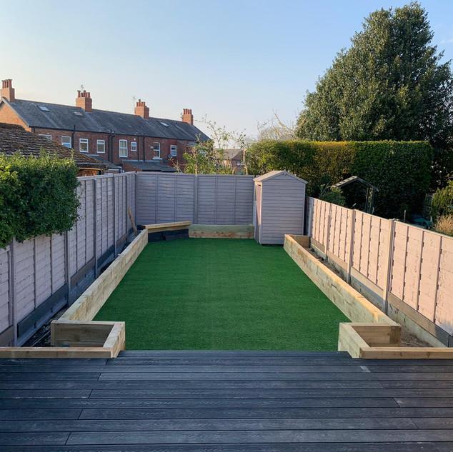 Decking & Artificial Grass