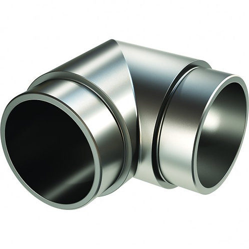 90 Degree Elbow for 50mm tube Anodised Aluminium