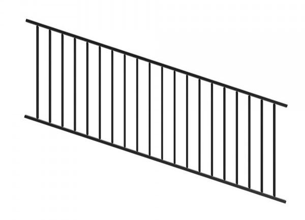 Adjustable Railing Panel Black