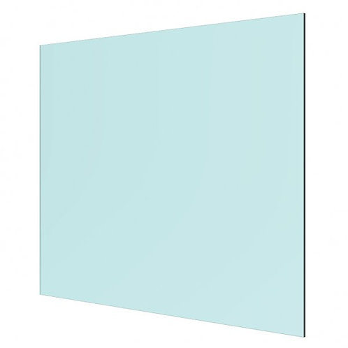 10mm Clear Float Toughened Glass Panel 930mm x 1174mm for 548 Magia Top Rails