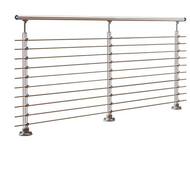 3 Post Aluminum Banister