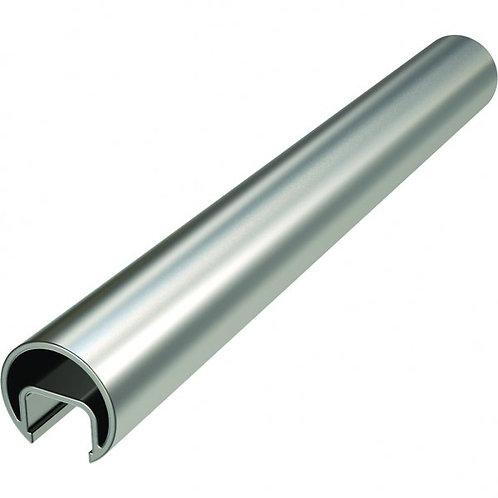 Split tube for 10mm glass Anodised Aluminium 6m long