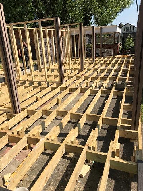 C24 Treated Timber Subframe
