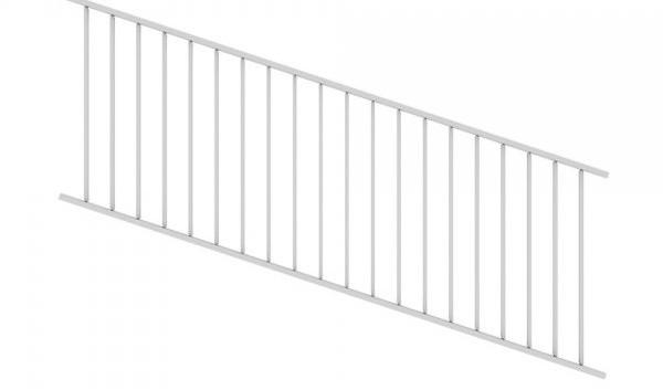 Adjustable Railing Panel White