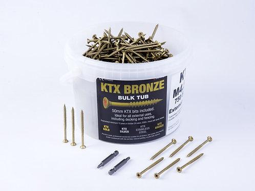 KTX Tub Bronze Screws