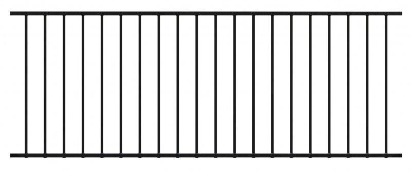 Railing Panel Black