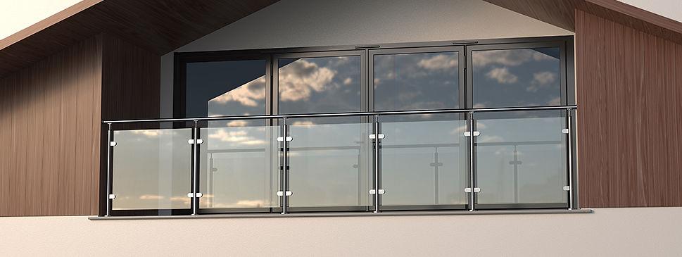 548 Glass Balustrade