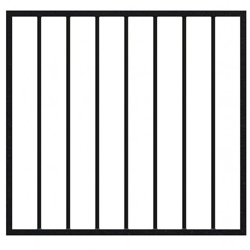 Gate for 1000mm High Fence (100mm gaps) 962mm wide x 900mm high 16mm tube