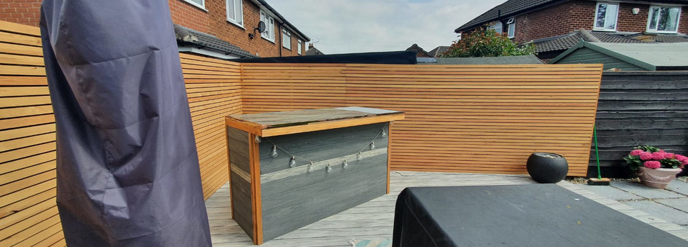 Bespoke Timber Fence