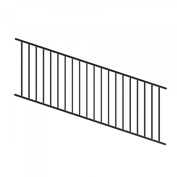 Fortitude Adjustable Railing Black