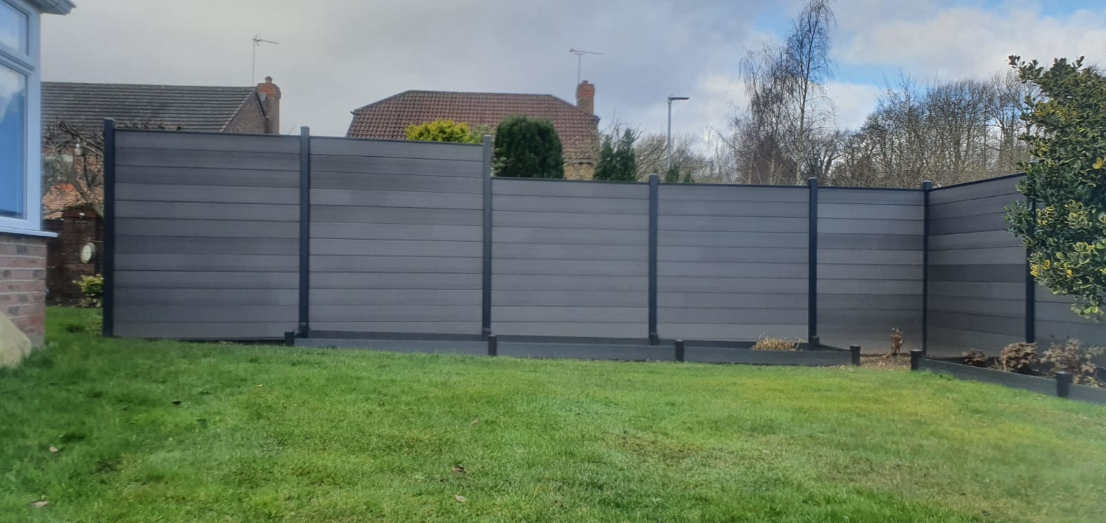 Composite Graphite Fence