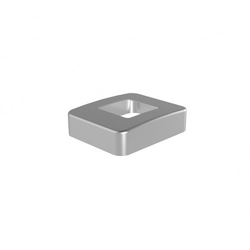 548 Magia Base Plate Cover For 50mm Post Aluminium Satin Anodised Finish
