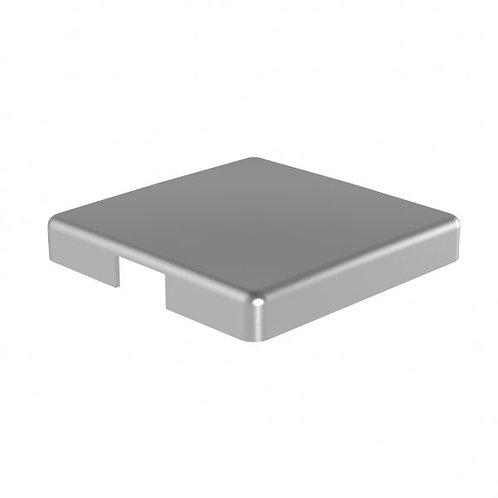548 Magia End Cap For 50mm Corner Post Aluminium Satin Anodised Finish