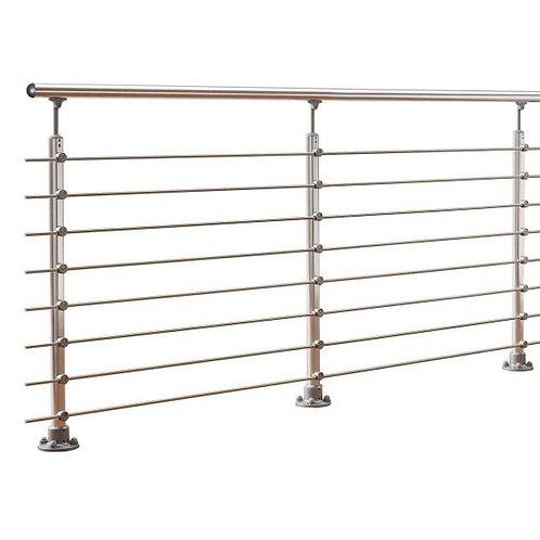 548 Abode Alu-Rail Aluminum & Anthracite Handrail Kit (3 Post)