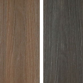 548 Prestige mocha and espresso deck boards