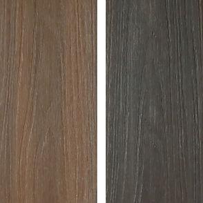 548 Prestige mocha and espresso deck boards
