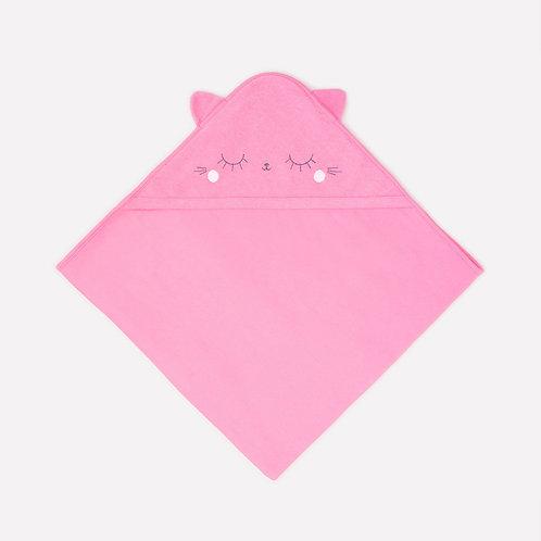 Полотенце  для купания К 8500/клубничное суфле(кошки,собаки) (р.85*85)