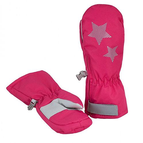 Рукавицы детские арт M-111, ярко-розовый