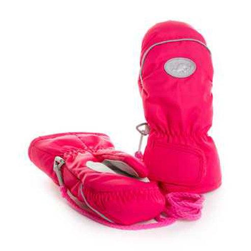 Рукавицы детские (краги)  M-92, ярко розовый