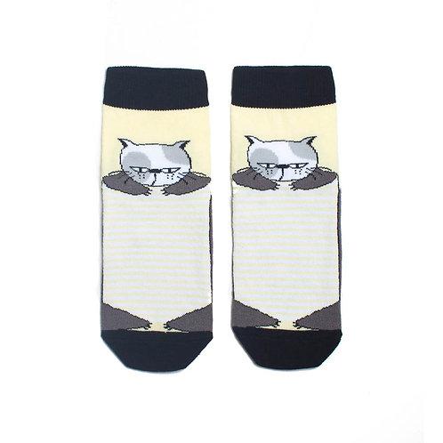 Носки детские 400K-505 12, бледно-желтый