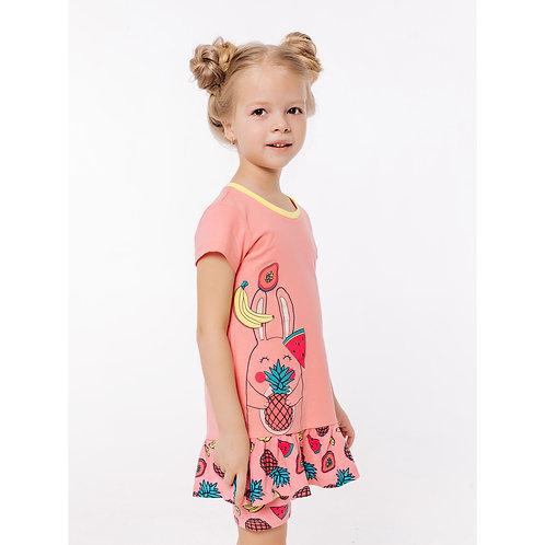 01086_BAT Платье-туника для девочки