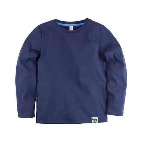 205К-161с Лонгслив ДМ 'Basic', синий