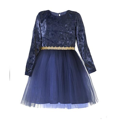 891.010.542 Платье нарядное синий