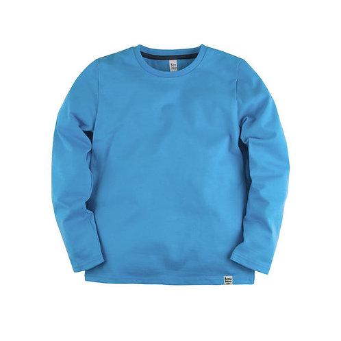 205К-161г Лонгслив ДМ 'Basic', голубой