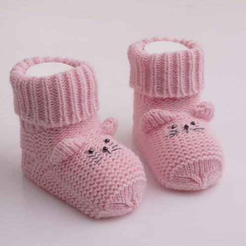 Носки Мышонок, розовый