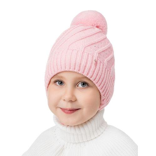 Шарлотта хб подкл, утеплитель, розовый