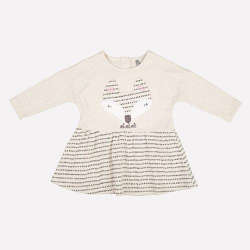 Платье KР 5470/св.бежевый меланж к185