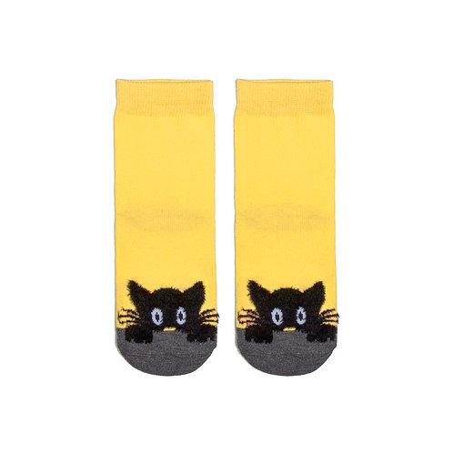 Носки детские 409K-884, св.желтый