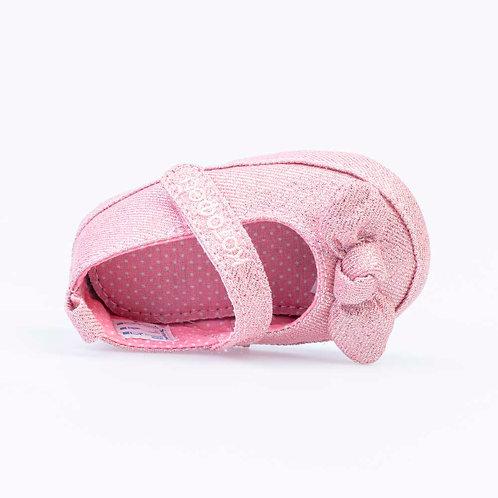 01081-13 Пинетки текстиль розовый