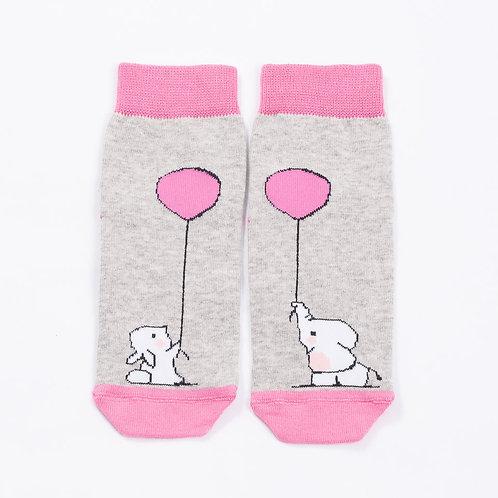 Носки, ярко-розовый