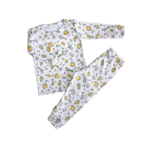 Пижама «Щечки» жираф