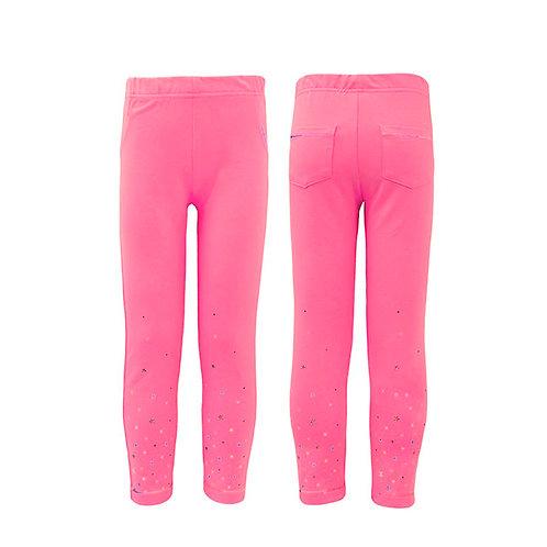 10-34-2  Брюки с карманами,розовый