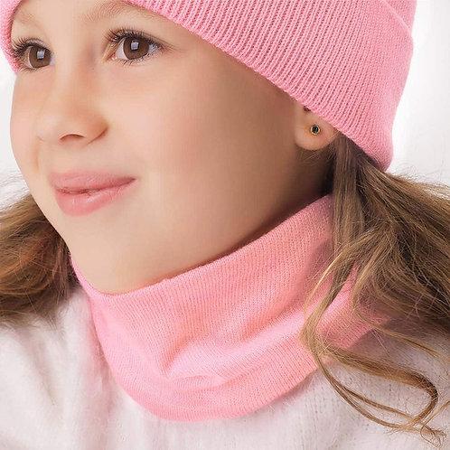 """Снуд   детский  """" Томик"""",розовый"""