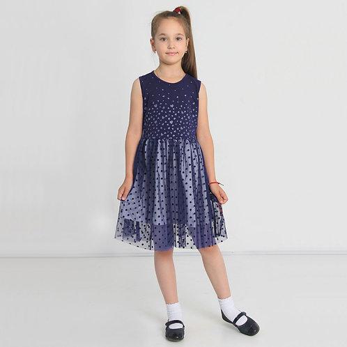 ИПЛ-356 Платье Подружка, темно-синий