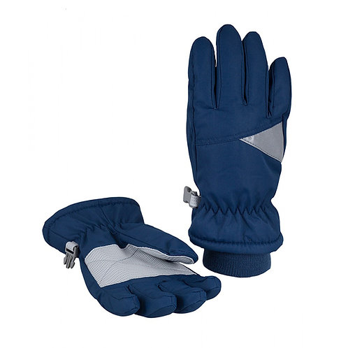 Перчатки детские арт G-114, темно-синий