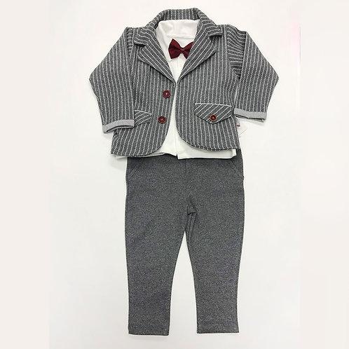 2020-2 Костюм для мальчика, серый
