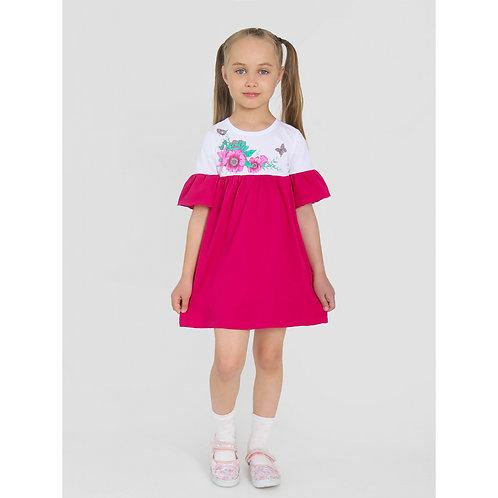 Платье ИПЛ-507/2 Диля-2,Малиновый