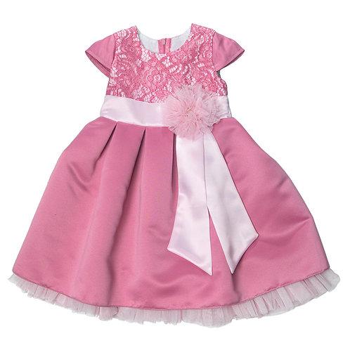 Платье нарядное Ассоль, розовый