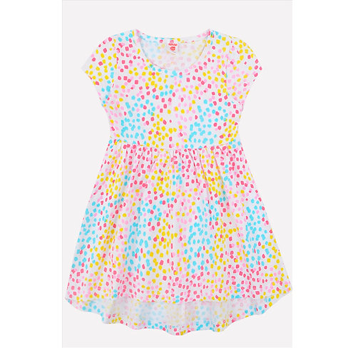 Платье K  5599/белый,этюд