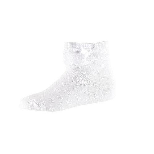 Носочки с рюшами, белый