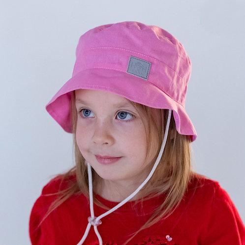 ПЛ19-24313842 Панамка, НоН со светоотражающим шевроном розовый