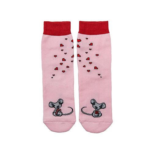 Носки детские 504K-1119, св.розовый